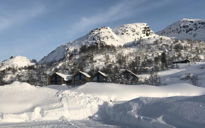 Hytte høyt til fjells – midt i Sirdal