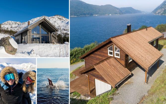 Hytte ved sjøen eller på fjellet?