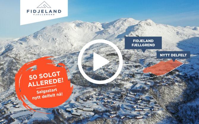 Salgsstart nytt delfelt på Fidjeland Fjellgrend