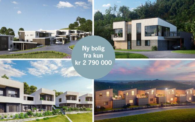 Ny bolig fra kun kr 2 790 000